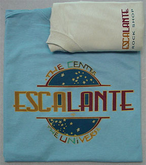Escalante Center of the Universe Rock Shop T-Shirt