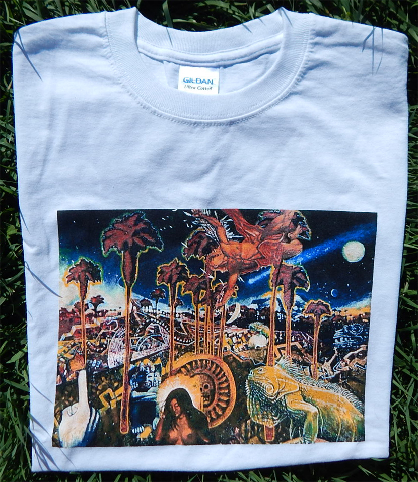 peyote palms t-shirt - b.c. kieling